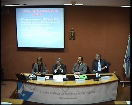 A politica turistica da xunta e a importancia do turismo na economía - Seminario Desafíos de la Gestión Pública Democrática y las Políticas Públicas en Brasil y la CCAA de Galicia